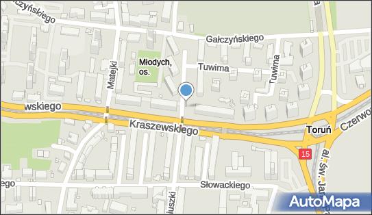 Kiosk, Moniuszki Stanisława 32, Toruń 87-100 - Kiosk