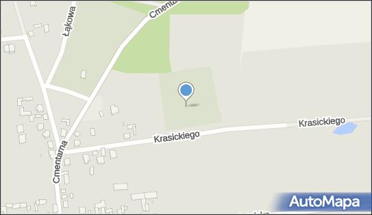 Cmentarz żydowski Kirkut, Krasickiego, Jedwabne 18-420 - Kirkut - Cmentarz żydowski