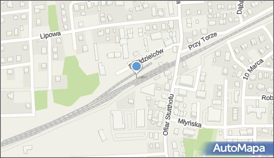 Kolej podmiejska, Spółdzielców, Luzino 84-242 - Kolej podmiejska