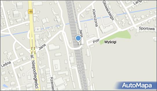 Sopot Wyścigi, Jana z Kolna, Sopot 81-741, 81-746, 81-859 - Kolej podmiejska