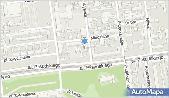 Komisariat Policji VI w Łodzi, ul. Wysoka 45, Łódź 90-037 - Komenda, Komisariat, Policja, numer telefonu
