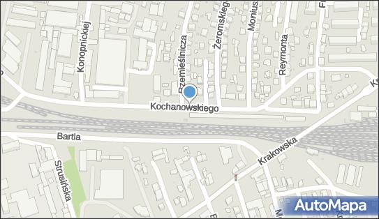 Kontrola Policji, pomiar prędkości, Kochanowskiego Jana, Tarnów 33-100 - Kontrola Policji, pomiar prędkości