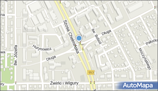 os., Szosa Chełmińska553, Toruń 87-100, 87-107, 87-121 - Kontrola Policji, pomiar prędkości
