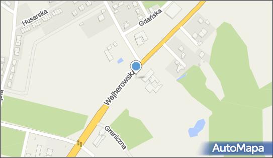 Radar, pomiar prędkości, WejherowskaE286, Kębłowo 84-242 - Kontrola Policji, pomiar prędkości