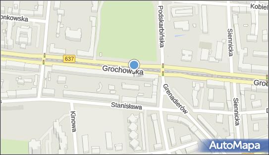 Ksero, DW 637, Grochowska, Warszawa - Ksero