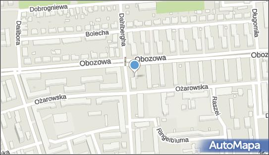 Księgarnia Na Kole SPC Grzyb U Denis A, Obozowa 85, Warszawa 01-425 - Księgarnia, Prasa, NIP: 5270208411