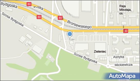 BP, Broniewskiego Władysława80 65, Toruń 87-100 - LPG - Stacja
