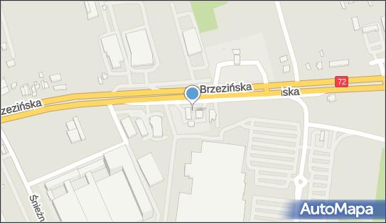 Orlen, Brzezińska72 23/25, Łódź 92-103 - LPG - Stacja