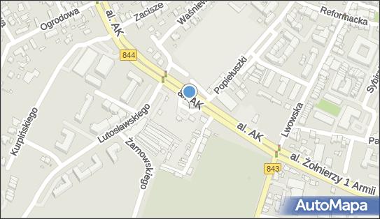 Orlen, DW 844, Aleja Armii Krajowej, Chełm - LPG - Stacja