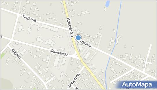 Stacja LPG, DW 627, Kosowska, Sokołów Podlaski - LPG - Stacja