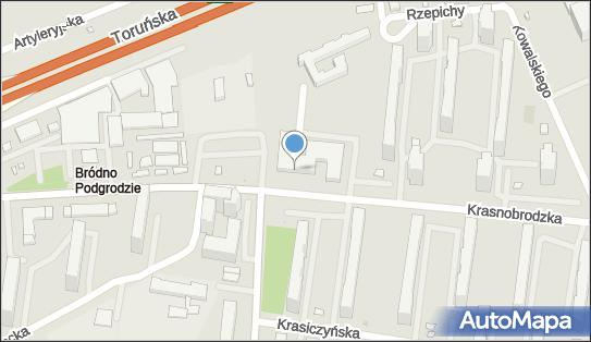 Millennium - Bankomat, Krasnobrodzka 11, Warszawa 03-214 - Millennium - Bankomat