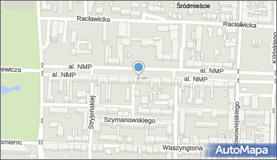 Monitoring miejski, Aleja Najświętszej Maryi Panny, Częstochowa - Monitoring miejski