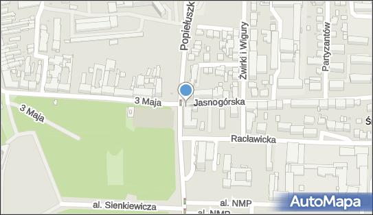 Monitoring miejski, Jasnogórska, Częstochowa 42-202, 42-217 - Monitoring miejski