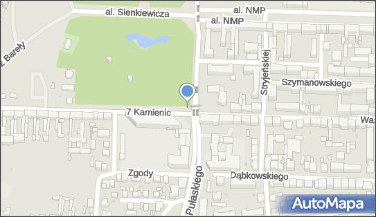 Monitoring miejski, 7 Kamienic, Częstochowa 42-226 - Monitoring miejski