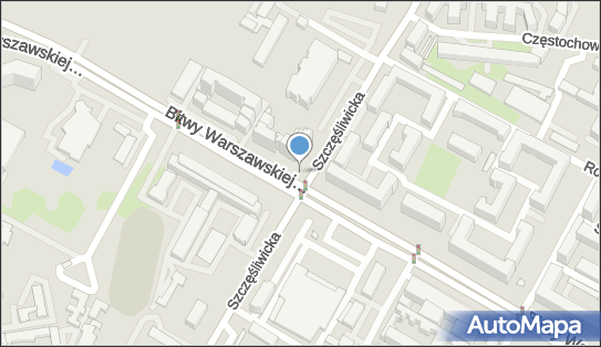Monitoring miejski, Szczęśliwicka, Warszawa 02-352, 02-353 - Monitoring miejski