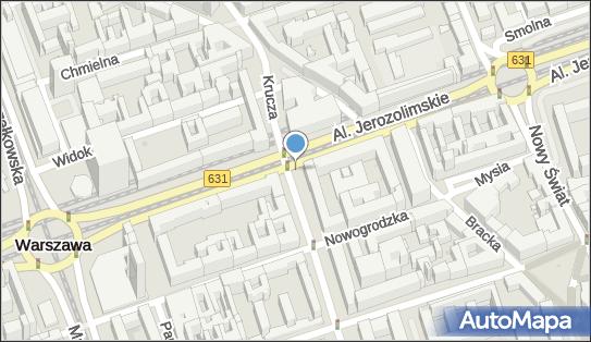 Monitoring miejski, Aleje Jerozolimskie x Krucza, Warszawa - Monitoring miejski