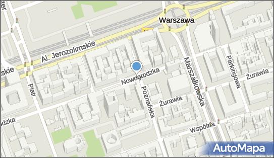 Monitoring miejski, Nowogrodzka, Warszawa 00-511, 00-513, 00-691, 00-694, 00-695 - Monitoring miejski