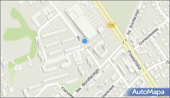 Monitoring miejski, św. Bonifacego 93, Warszawa 02-945 - Monitoring miejski
