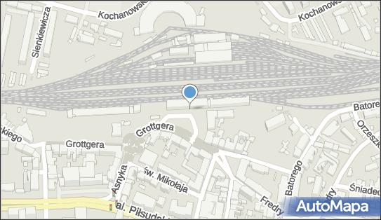 Monitoring miejski, Plac Dworcowy, Rzeszów - Monitoring miejski