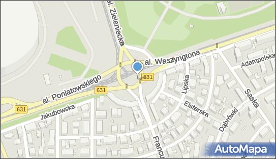 Monitoring miejski, Rondo Waszyngtona Jerzego, Warszawa - Monitoring miejski