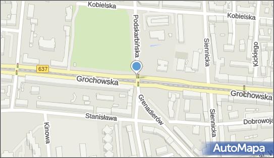 Warszawa - Grochów, DW 637, Grochowska, Praga Południe - Monitoring miejski