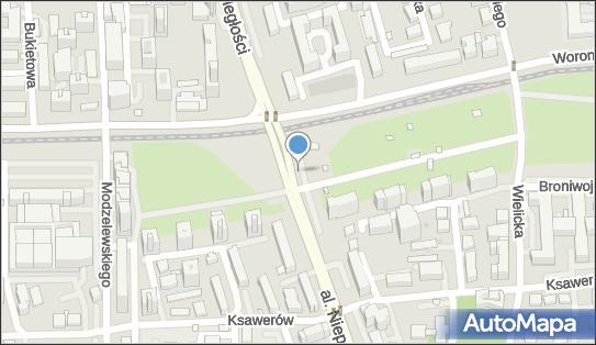 Myjnia samochodowa, Aleja Niepodległości, Warszawa - Myjnia samochodowa