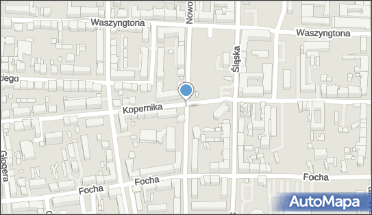 Ryzyko kolizji, Kopernika Mikołaja, Częstochowa 42-217 - Niebezpieczne miejsce