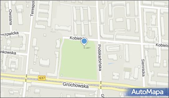 Boisko, Kobielska 98, Warszawa 03-835 - Obiekt sportowy