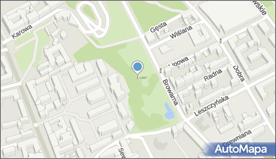 Park Kazimierzowski, Lipowa 9, Warszawa 00-316 - Park, Ogród