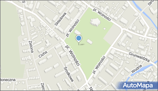 Park, Ogród, Plac Wolności, Olecko - Park, Ogród