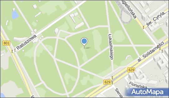 Park Praski I Armii Wojska Polskiego, Aleja Lisieckiego Kazimierza 03-411 - Park, Ogród