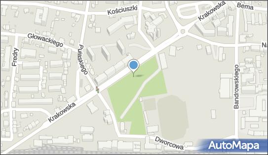 Planty Kolejowe im. Jakubowskiego, Krakowska 47, Tarnów 33-100 - Park, Ogród