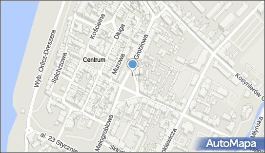 1 miejsce, Plac Niepodległości 12, Grudziądz 86-300 - Parking dla niepełnosprawnych