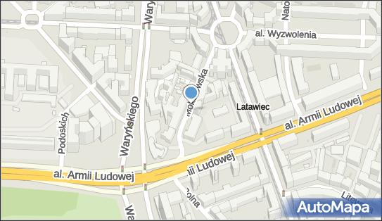 1 miejsce, Mokotowska 6A, Śródmieście - Parking dla niepełnosprawnych