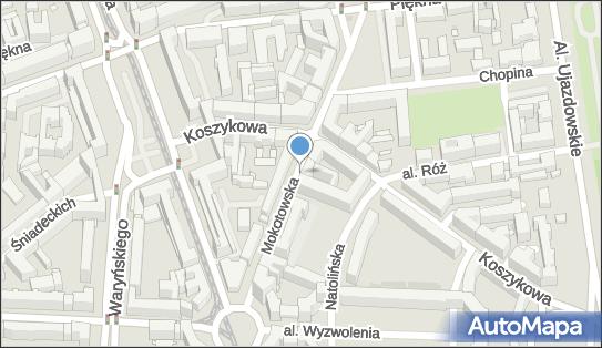 1 miejsce, Mokotowska 24, Śródmieście - Parking dla niepełnosprawnych