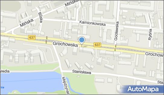 1 miejsce, Grochowska 335, Praga-Południe - Parking dla niepełnosprawnych