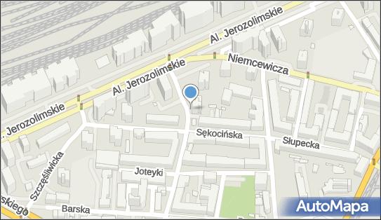 1 miejsce, Białobrzeska 68, Ochota - Parking dla niepełnosprawnych