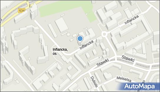 1 miejsce, Stawki 4E, Warszawa 00-193 - Parking dla niepełnosprawnych