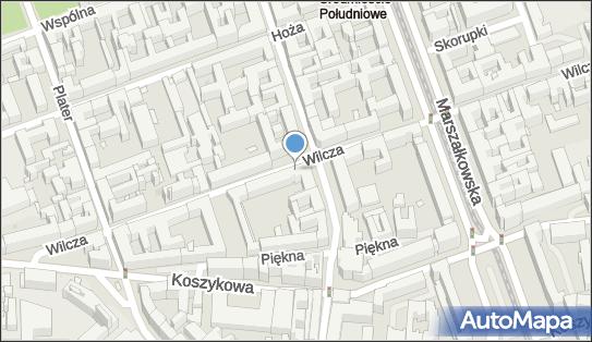 1 miejsce, Wilcza 51A, Warszawa 00-679 - Parking dla niepełnosprawnych