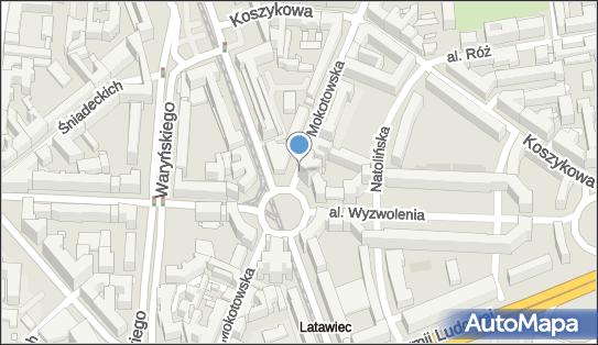2 miejsca, Mokotowska 12-14, Śródmieście - Parking dla niepełnosprawnych