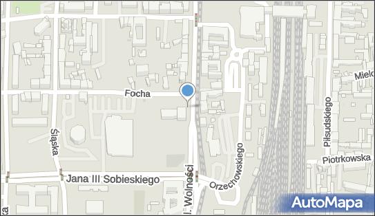 Parking, Aleja Wolności 34, Częstochowa - Parking
