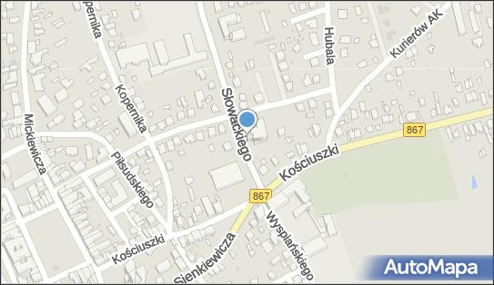 Parking, Słowackiego Juliusza, Lubaczów 37-600 - Parking