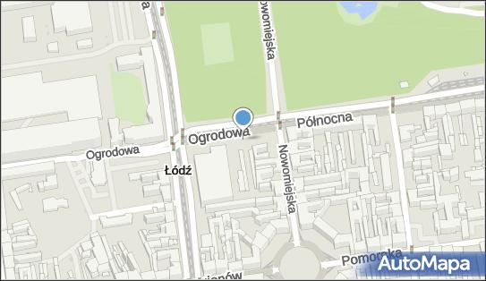 nr 3, Ogrodowa 4, Łódź - Parkomat