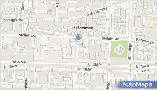 Parkomat, Kossak-Szczuckiej Zofii, Częstochowa 42-217 - Parkomat