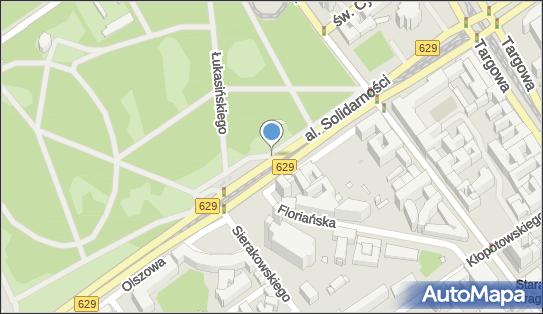 Parkomat, Aleja Solidarności, Warszawa - Parkomat