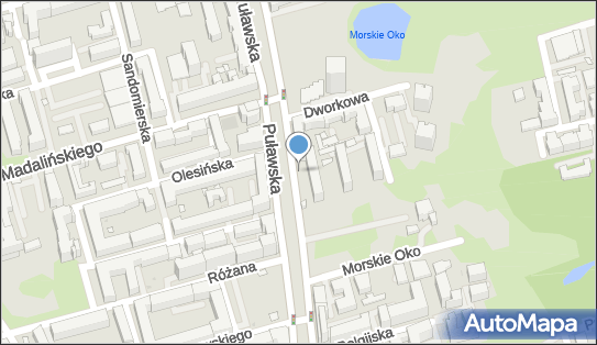 Parkomat, Puławska 53, Warszawa 02-508 - Parkomat