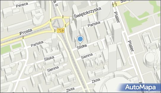 Parkomat, Śliska 10, Warszawa 00-127 - Parkomat