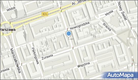 Parkomat, Krucza, Warszawa 00-022, 00-025, 00-509, 00-512, 00-522, 00-525, 00-526, 00-537, 00-548, 00-921 - Parkomat