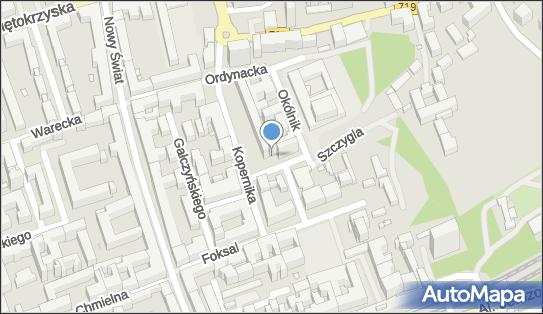 Parkomat, Szczygla 8, Warszawa 00-370 - Parkomat