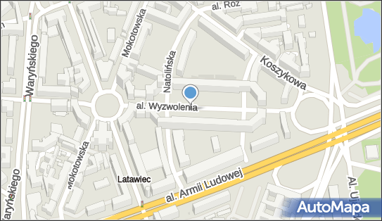 Parkomat, Aleja Wyzwolenia, Warszawa - Parkomat